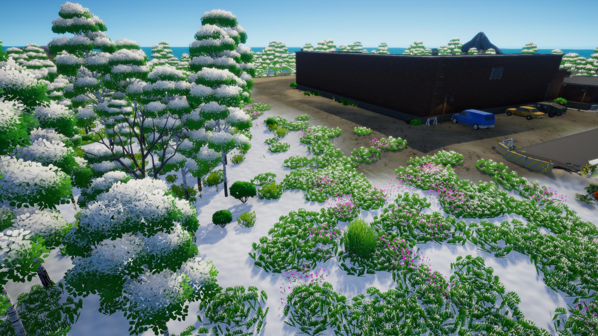 LIGHT⚡NITE GAME - Winter Map